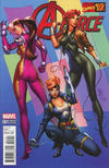 Cover for A-Force (Marvel, 2016 series) #1 [Incentive J. Scott Campbell Marvel '92 Variant]