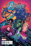 Cover for A-Force (Marvel, 2016 series) #2 [Incentive Joëlle Jones Variant]