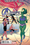 Cover for A-Force (Marvel, 2016 series) #5 [Incentive Kris Anka Variant]