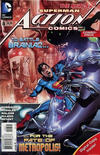 Cover for Action Comics (DC, 2011 series) #8 [Combo-Pack]