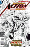 Cover for Action Comics (DC, 2011 series) #16 [Rags Morales Black and White Variant Cover]