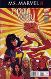 Cover for Ms. Marvel (Marvel, 2016 series) #8