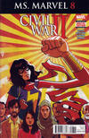 Cover Thumbnail for Ms. Marvel (2016 series) #8