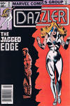 Cover Thumbnail for Dazzler (1981 series) #25 [Newsstand Edition]