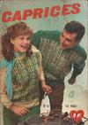 Cover for Caprices (Edi-Europ, 1963 series) #8