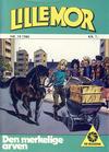 Cover for Lillemor (Serieforlaget / Se-Bladene / Stabenfeldt, 1969 series) #19/1986