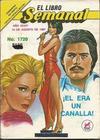 Cover for El Libro Semanal (Novedades, 1960 ? series) #1720