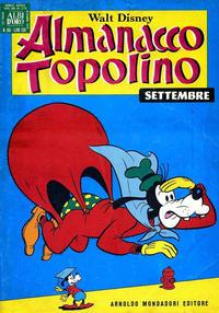 Cover Thumbnail for Almanacco Topolino (Arnoldo Mondadori Editore, 1957 series) #165