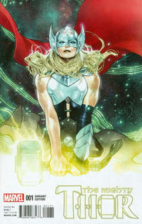 Cover Thumbnail for Mighty Thor (Marvel, 2016 series) #1 [Incentive Olivier Coipel Variant]