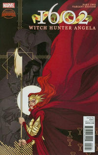 Cover Thumbnail for 1602: Witch Hunter Angela (Marvel, 2015 series) #2 [Incentive Irene Koh Variant]