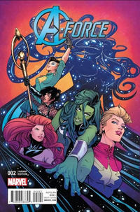 Cover Thumbnail for A-Force (Marvel, 2016 series) #2 [Incentive Joëlle Jones Variant]