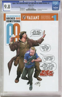 Cover Thumbnail for A&A: The Adventures of Archer & Armstrong (Valiant Entertainment, 2016 series) #1 [Cover D - Clayton Henry]