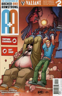 Cover Thumbnail for A&A: The Adventures of Archer & Armstrong (Valiant Entertainment, 2016 series) #2 [Cover A - David LaFuente]
