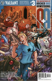 Cover Thumbnail for A&A: The Adventures of Archer & Armstrong (Valiant Entertainment, 2016 series) #3 [Cover A - David LaFuente]