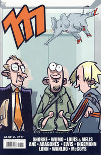 Cover Thumbnail for M (Bladkompaniet / Schibsted, 2006 series) #8/2011