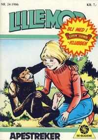 Cover Thumbnail for Lillemor (Serieforlaget / Se-Bladene / Stabenfeldt, 1969 series) #24/1986