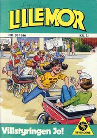 Cover Thumbnail for Lillemor (Serieforlaget / Se-Bladene / Stabenfeldt, 1969 series) #20/1986