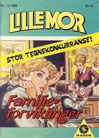 Cover Thumbnail for Lillemor (Serieforlaget / Se-Bladene / Stabenfeldt, 1969 series) #12/1986