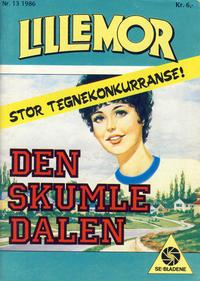 Cover Thumbnail for Lillemor (Serieforlaget / Se-Bladene / Stabenfeldt, 1969 series) #13/1986