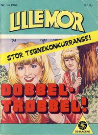 Cover Thumbnail for Lillemor (Serieforlaget / Se-Bladene / Stabenfeldt, 1969 series) #14/1986