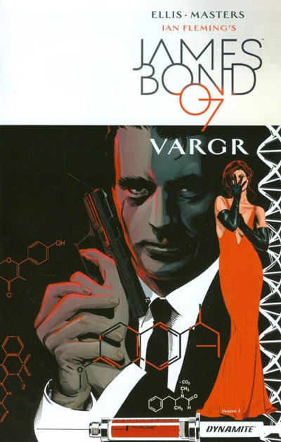 Cover for James Bond (Dynamite Entertainment, 2015 series) #1 [Cover C Retailer Incentive Francavilla]