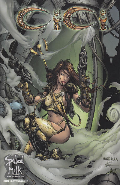 Cover for CiCi Miniseries (Spilled Milk, 2002 series) #1 [Cover B]