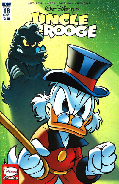 Cover for Uncle Scrooge (IDW, 2015 series) #16 / 420
