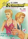 Cover for El Libro Semanal (Novedades, 1960 ? series) #1737