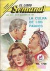 Cover for El Libro Semanal (Novedades, 1960 ? series) #1739