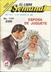 Cover for El Libro Semanal (Novedades, 1960 ? series) #1747