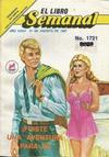 Cover for El Libro Semanal (Novedades, 1960 ? series) #1721