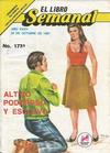 Cover for El Libro Semanal (Novedades, 1960 ? series) #1731
