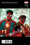 Cover Thumbnail for Spider-Man / Deadpool (2016 series) #1 [Variant Edition - Hip-Hop - Dave Johnson Cover]
