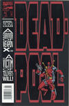 Cover for Deadpool (Marvel, 1993 series) #1 [Newsstand Edition]