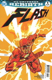 Cover Thumbnail for The Flash (DC, 2016 series) #1 [Dave Johnson Variant Cover]