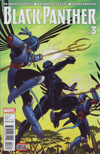 Cover Thumbnail for Black Panther (Marvel, 2016 series) #3
