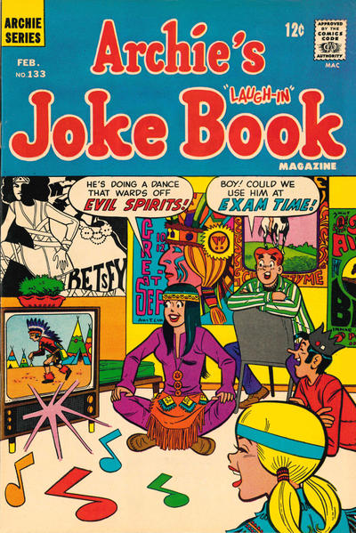 Cover for Archie's Joke Book Magazine (Archie, 1953 series) #133