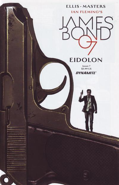 Cover for James Bond (Dynamite Entertainment, 2015 series) #7