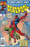 Cover for Deadpool (Marvel, 1997 series) #11 [Newsstand Edition]