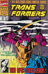 Cover for The Transformers (Marvel, 1984 series) #80 [Direct Edition]
