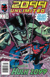 Cover for 2099 Unlimited (Marvel, 1993 series) #1 [Newsstand]