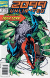 Cover for 2099 Unlimited (Marvel, 1993 series) #2 [Newsstand]