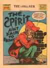 Cover Thumbnail for The Spirit (1940 series) #5/30/1943 [Baltimore Sun Edition]
