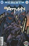 Cover for Batman (DC, 2016 series) #2 [David Finch]