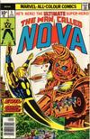Cover for Nova (Marvel, 1976 series) #5 [British Price Variant]