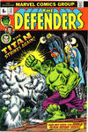 Cover for The Defenders (Marvel, 1972 series) #12 [British]