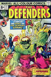 Cover for The Defenders (Marvel, 1972 series) #22 [British]