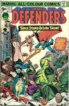 Cover for The Defenders (Marvel, 1972 series) #25 [British]