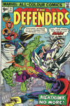 Cover Thumbnail for The Defenders (1972 series) #31 [British Price Variant]