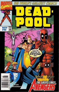 Cover Thumbnail for Deadpool (Marvel, 1997 series) #10 [Newsstand]
